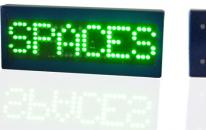 SPACES/FULL sign