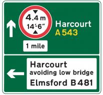 Custom Road Sign